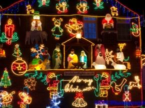 Brailsford christmas lights,Brentry,Bristol.
